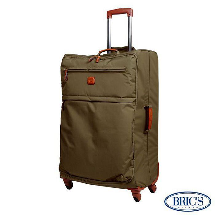 【米蘭 BRICS】30吋 PVC 防水 極輕寬敞 伸縮拉桿 行李箱 / 旅行箱 - 橄欖