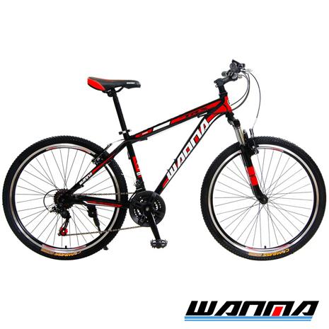 【WANMA】WM-1 26吋 日本SHIMANO 21速 登山車-DIY版黑黃
