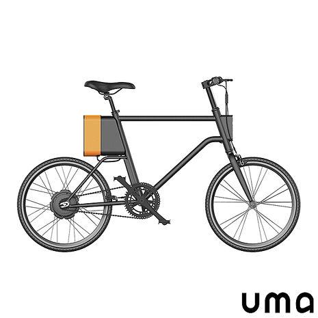 【 UMA 雲馬 】C1 智行車 搭配電動輔助模式 可定速 最懂年輕人的電動車-戶外.婦幼.食品保健-myfone購物