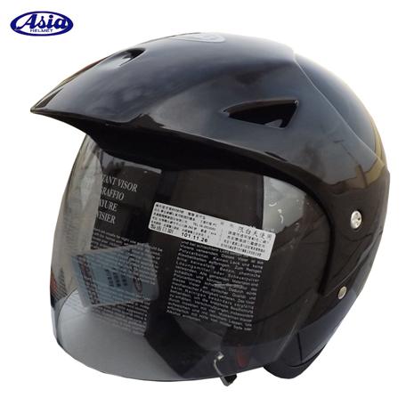 「ASIA」FreeStyle A705 安全帽 亮光黑