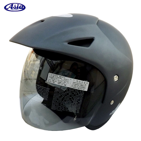 「ASIA」FreeStyle A705 安全帽 消光灰