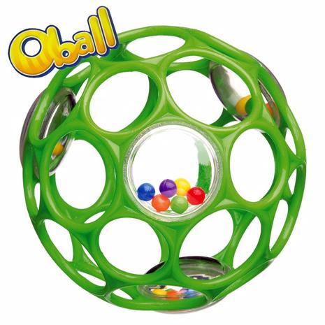 【Kids II-OBALL】4吋沙沙洞動球