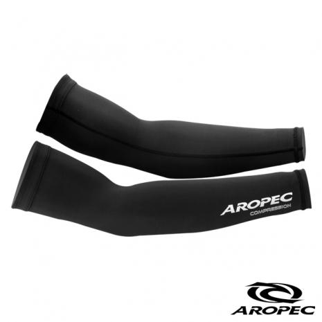 【AROPEC】機能型壓力長袖套 黑 S