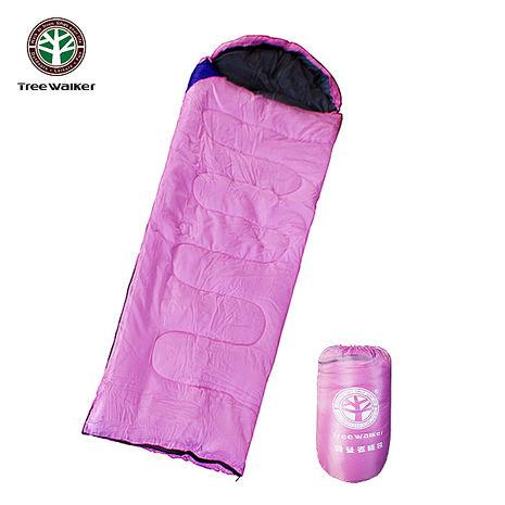 Tree Walker 露營者睡袋 粉紅