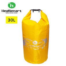 Healgenart 雙肩防水漂浮袋 30L 黃色
