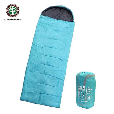Tree Walker 通用露營睡袋 天空藍