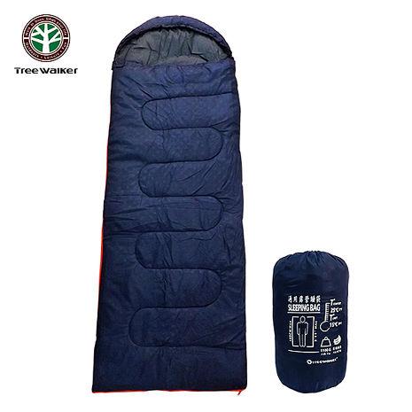 Tree Walker 通用露營睡袋 深藍