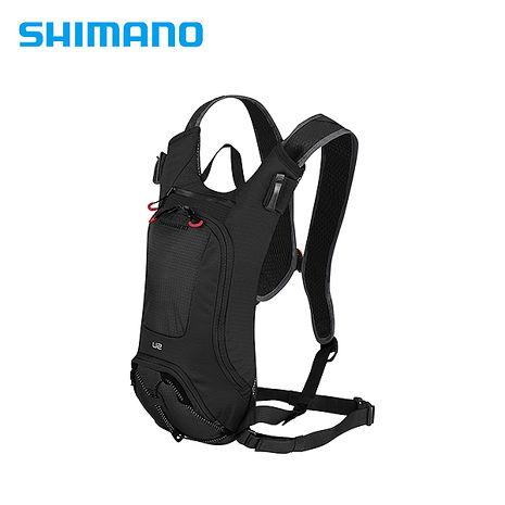 SHIMANO UNZEN 登山車後背包-無水袋 2L 黑色