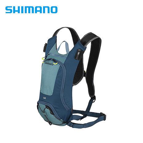 SHIMANO UNZEN 登山車後背包-無水袋 2L 愛琴藍