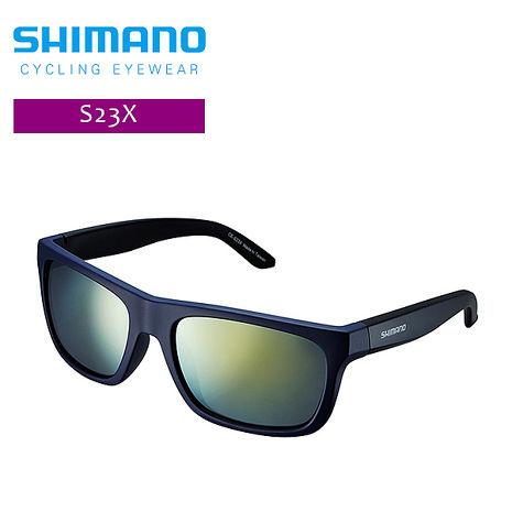 SHIMANO S23X休閒太陽眼鏡 星空藍/黑