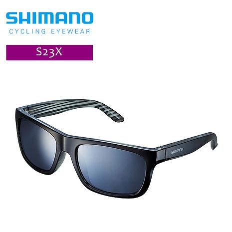 SHIMANO S23X休閒太陽眼鏡 層疊黑