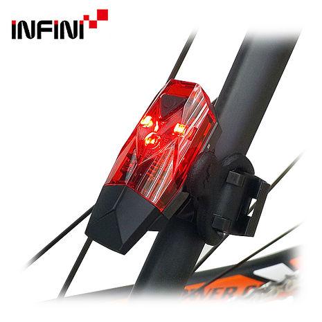 INFINI MINI LAVA I-261R 紅光USB充電式後燈