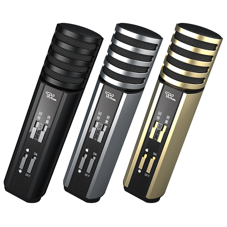 Lantic 喬帝 K100 彩虹知音 K歌神器 2合1 (麥克風+混音) K歌麥克風-家電.影音-myfone購物