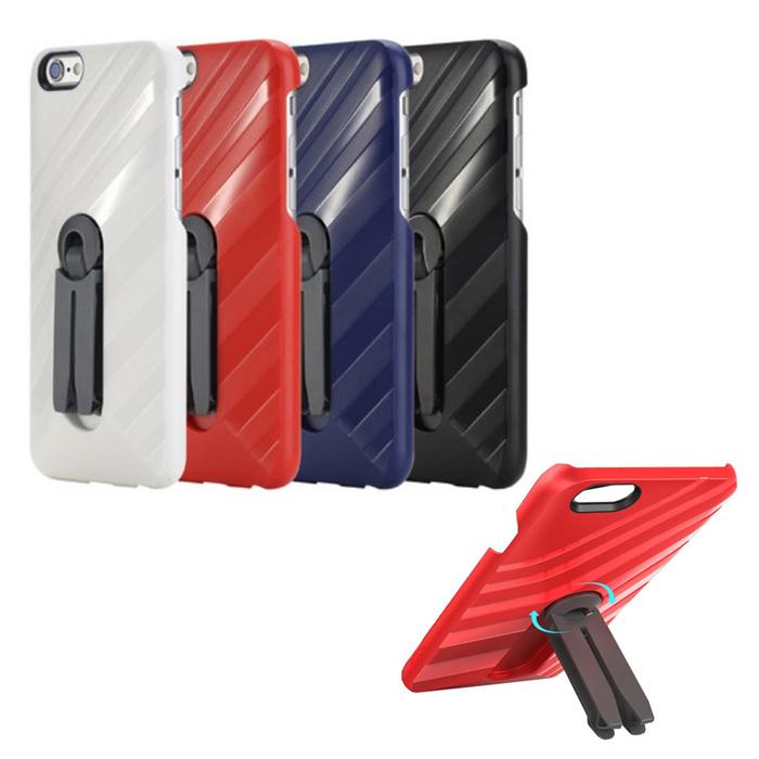 ROCK iPhone 6 / 6s 4.7 吋車載支架手機殼紅