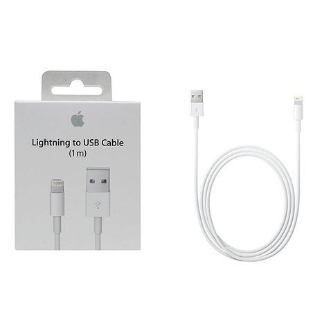 Apple iPhone 5 /5s/6/6s 原廠盒裝Lightning 對 USB 連接線