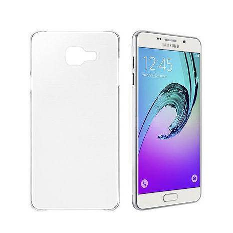 公司貨【三星原廠】SAMSUNG Galaxy A7  (2016 版) SLIM COVER 原廠超薄型透明背蓋