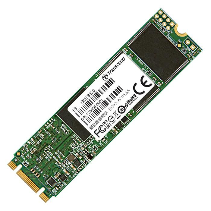 Transcend 創見 MTS820 120GB M.2 SATA 模式 SSD 固態硬碟 TS120GMTS820