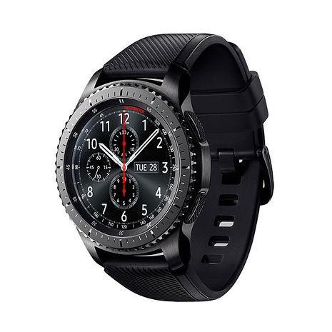 SAMSUNG Gear S3 Frontier 冒險家(SM-R760NDAABRI) 橡膠錶帶+送原廠錶帶 1條