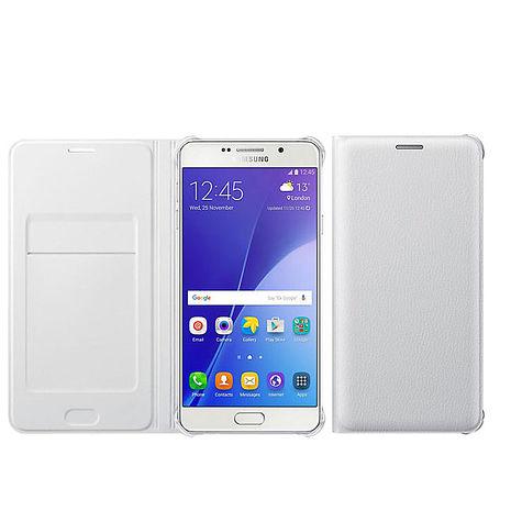 公司貨【三星原廠】SAMSUNG Galaxy A7 (2016版) 原廠側掀式式皮套(白色)