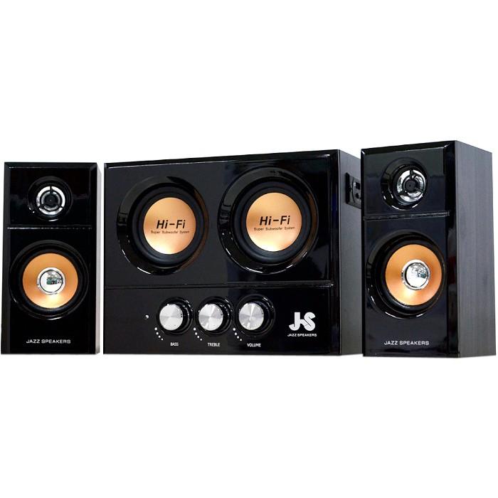 JS 淇譽 JY3250 震天雷 雙重低音 OTG 3件式 多媒體喇叭