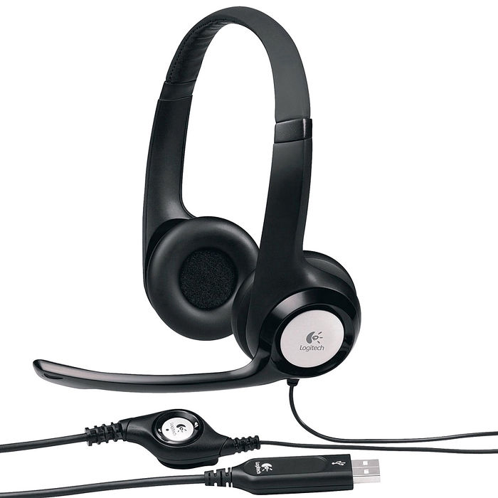 Logitech 羅技 H390 千里佳音舒適版 USB 耳機麥克風