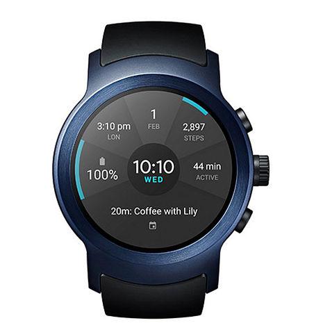 【10/19前 領券現折$1000】LG Watch Sport W281 可通話智慧手錶(支援Nano SIM卡) (藍)