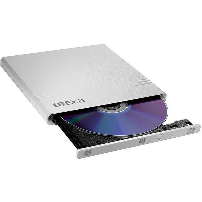 LITEON eBAU108 白 外接式超薄型 DVD 燒錄機