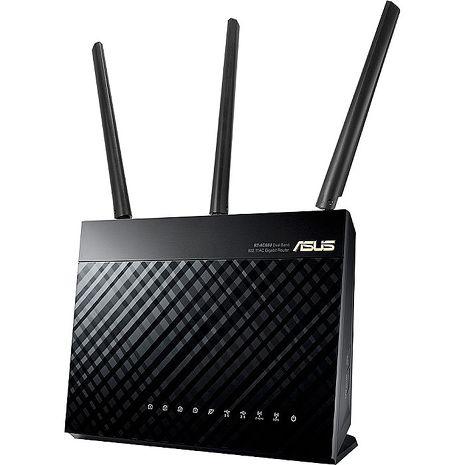 ASUS 華碩 RT-AC68U V3 802.11ac AC1900 雙頻 Gigabit 無線路由器