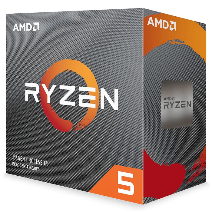 AMD Ryzen 5-3500X 3.6GHz 六核心處理器 R5-3500X (內含風扇)