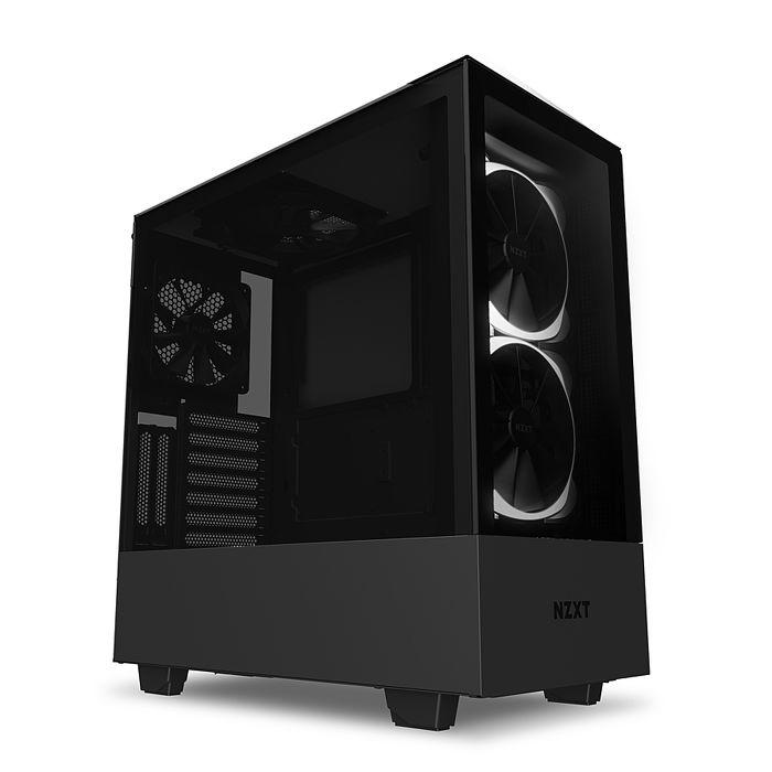 NZXT 恩傑 H510 Elite 數位控制 全透側 ATX 電腦機殼 / 2色可選 / 原廠兩年保固