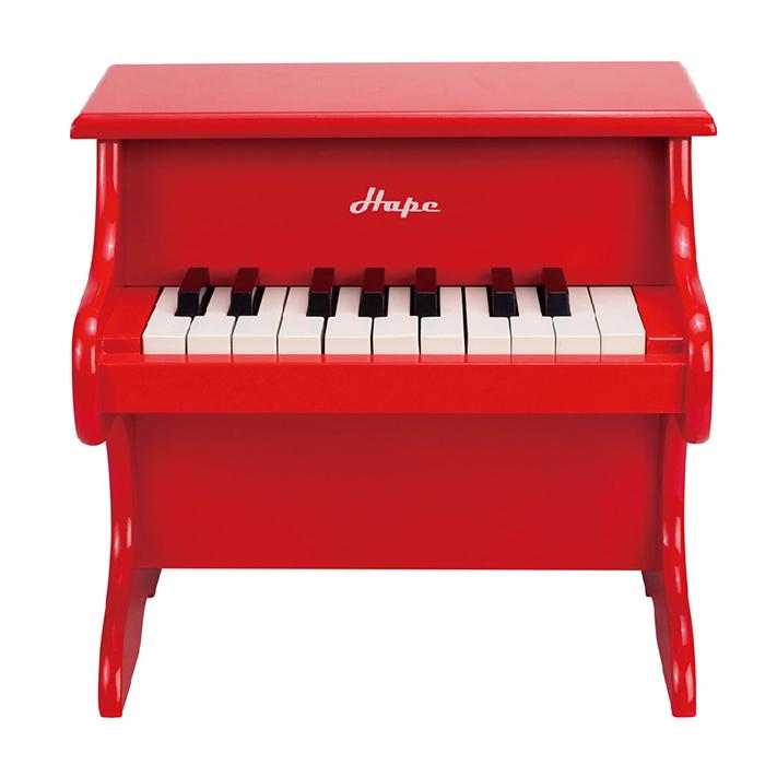 Sunnybaby 生活館 - 德國【HAPE愛傑卡】音樂小鋼琴-紅
