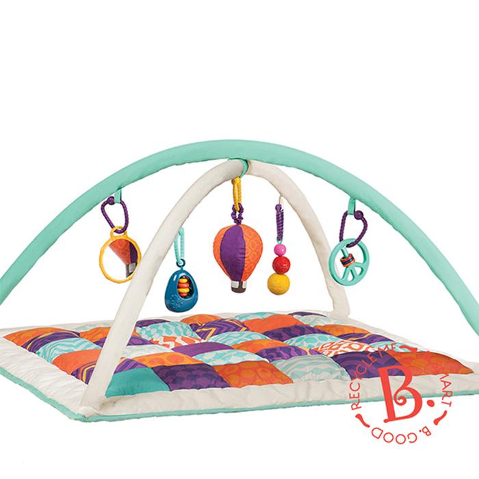 SunnyBaby生活館 美國【B.Toys】熱氣球健力墊