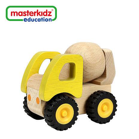 SunnyBaby生活館【Masterkidz】木製混凝土車玩具