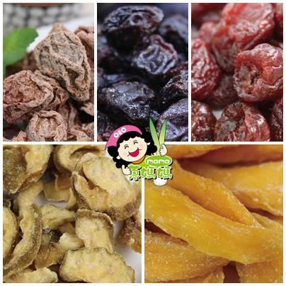 【蔥媽媽 果然美味】天然美味水果乾5包/禮盒(基本款)