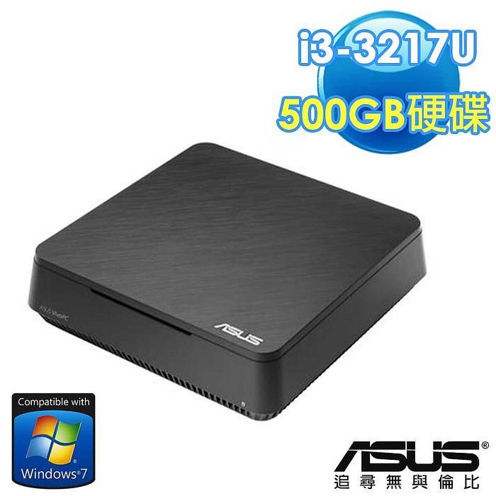 ASUS華碩 VM60-17U57PA  Intel Celeron i3-3217U  《win7專業版》500G  迷你桌上型電腦