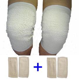 i 美麗-保暖毛絨膝套(買一送一)
