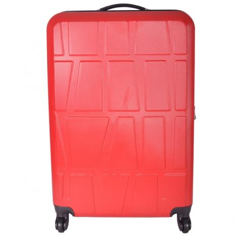 【RAIN DEER】*拚圖系列*26吋ABS輕硬殼行李箱(多色任選)咖啡