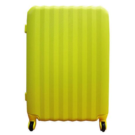 【RAIN DEER】26吋雷根糖ABS海關密碼鎖行李箱粉紅色