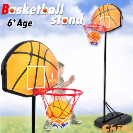 親子直立式籃球架