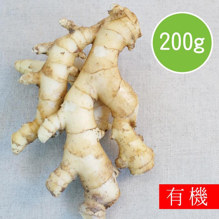(任選)【陽光市集】花蓮好物-有機老薑(200g)