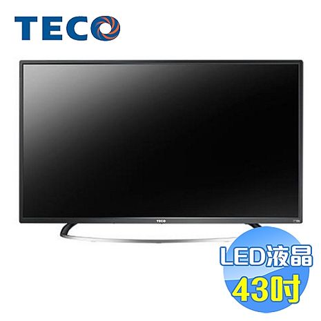 東元 TECO 43吋LED液晶電視 TL43A1TRE