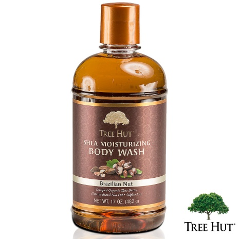 TREE HUT 樹上小屋淨嫩柔膚沐浴乳-巴西堅果香味