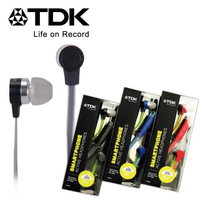 TDK - SP400入耳式機能耳機黑