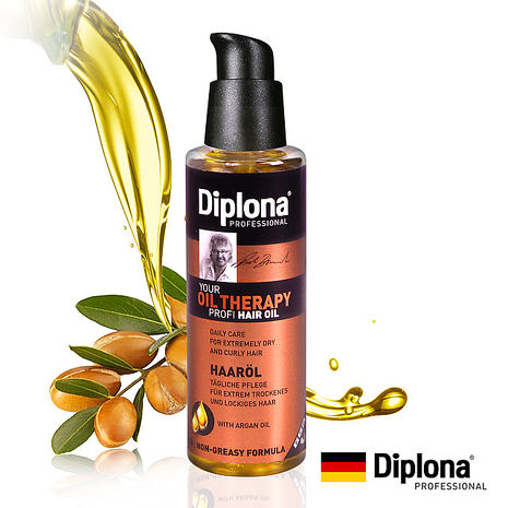 【德國Diplona專業級】Argan摩洛哥堅果護髮油100ml(極度受損使用!)
