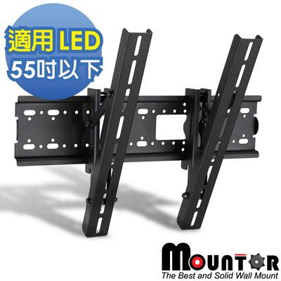 【Mountor】薄型電視自由可調式壁掛架-適用55吋以下LED(MF4020)