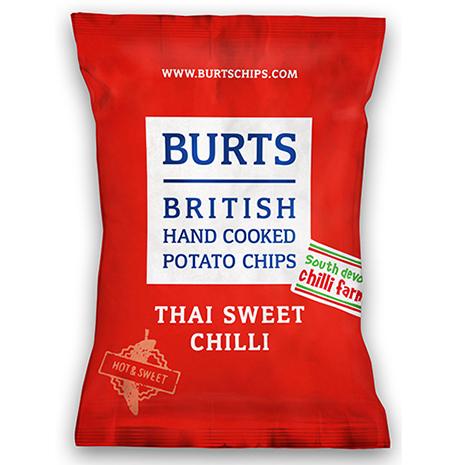 【BURTS】波滋手作洋芋片-波滋手炸洋芋片-泰式風味150g 3包組