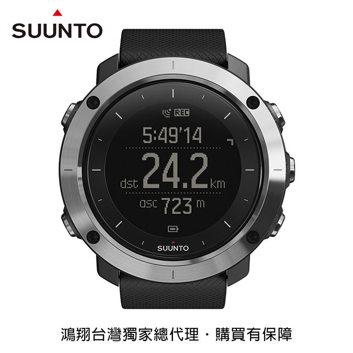 SUUNTO Traverse 健行與徒步登山越野GPS腕錶-黑