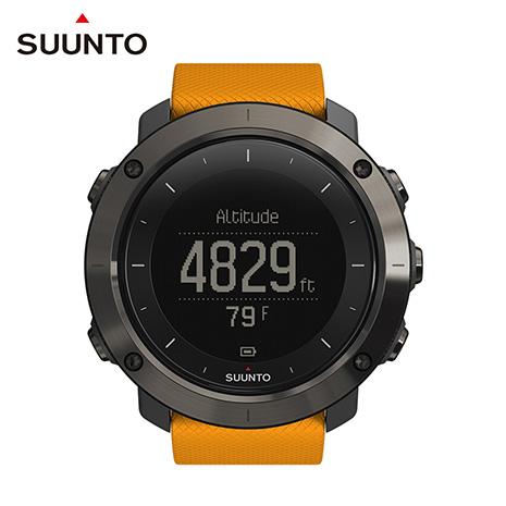 SUUNTO Traverse 健行與徒步登山越野GPS腕錶-琥珀色