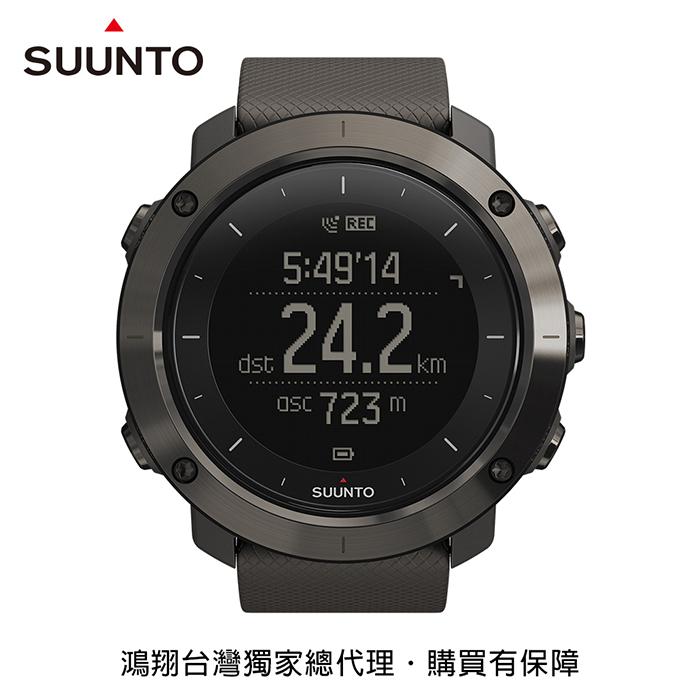 SUUNTO Traverse 健行與徒步登山越野GPS腕錶-石墨色