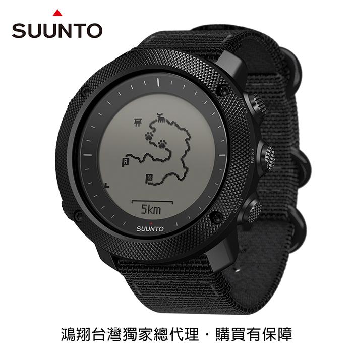 SUUNTO Traverse Alpha專為狩獵、釣魚、征服叢林野外的GPS腕錶-潛行黑
